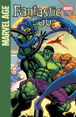 Marvel Age Fantastic Four Vol 1 12