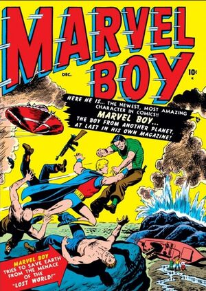 Marvel Boy Vol 1 1