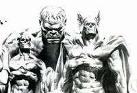 Marvels (Earth-9997) Earth X Sketchbook Vol 1 1