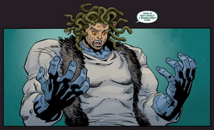 Medusa (Gorgon) (Earth-616) from Deadpool The Gauntlet Infinite Comic Vol 1 13