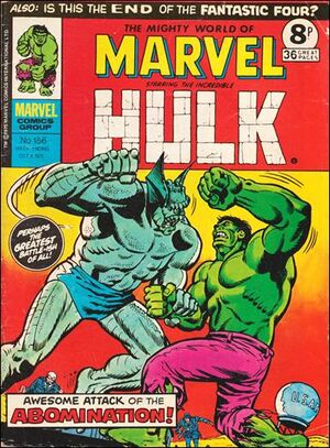 Mighty World of Marvel Vol 1 156