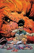 Moon Girl and Devil Dinosaur Vol 1 13 Greene Variant Textless