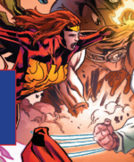 Phoenix (Warp World) (Earth-616) from Secret Warps Soldier Supreme Annual Vol 1 1 001