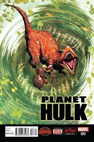 Planet Hulk Vol 1 3