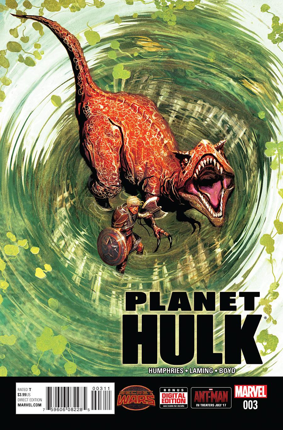 شماره دوم کمیک بوک hulk planet دانلود کمیک ترجمه pdf مارول