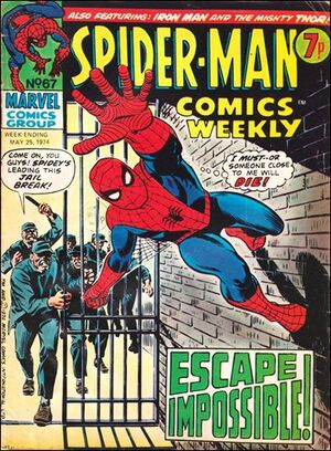 Spider-Man Comics Weekly Vol 1 67