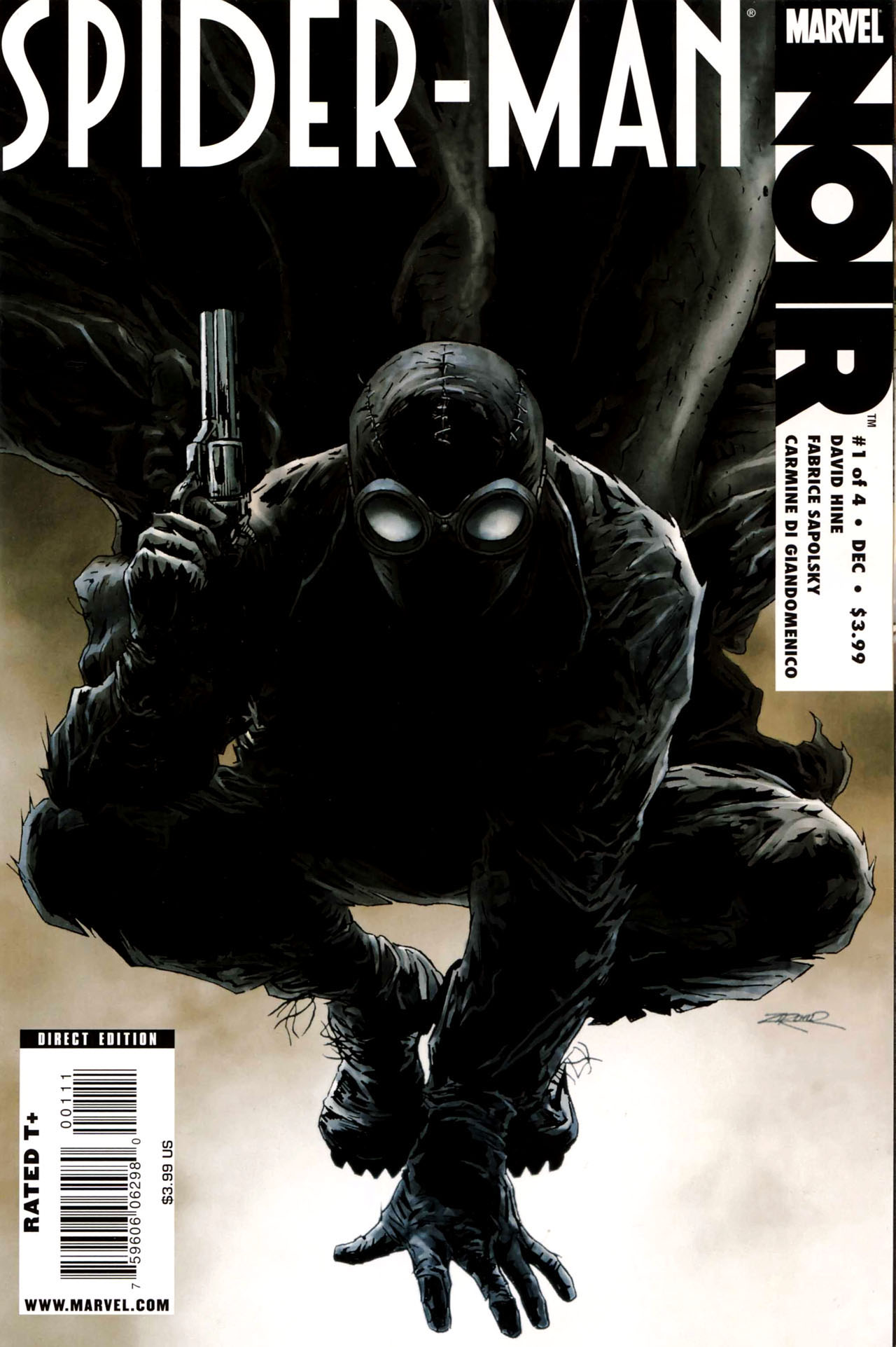 image - spider-man noir vol 1 1 | marvel database | fandom