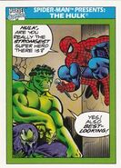 Spider-Man Presents Hulk from Marvel Universe Cards Series I 0001