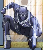T'Challa (Earth-TRN711) from Marvel Action Avengers Vol 1 8 0001
