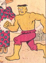 Bruce Banner (Earth-89768) from Fred Hembeck Destroys the Marvel Universe Vol 1 1 0001