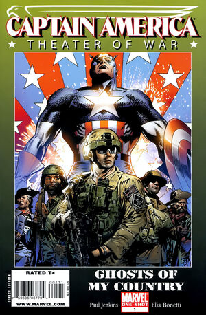 Captain America Theatre of War Ghosts Of My Country Vol 1 1