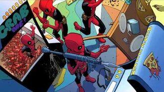 Deadpool 8 - Deadpool's Pizza Funhouse! - Marvel AR