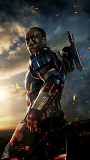 James Rhodes (Earth-199999) from Iron Man 3 (film) Poster 0001