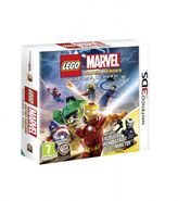 LEGO Marvel Super Heroes box art mobile and James Rhodes (Earth-13122)