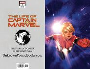 Life of Captain Marvel Vol 2 1 Unknown Comic Books Exclusive Wraparound Variant