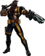 Lucas Bishop (Earth-12131) from Marvel Avengers Alliance 001
