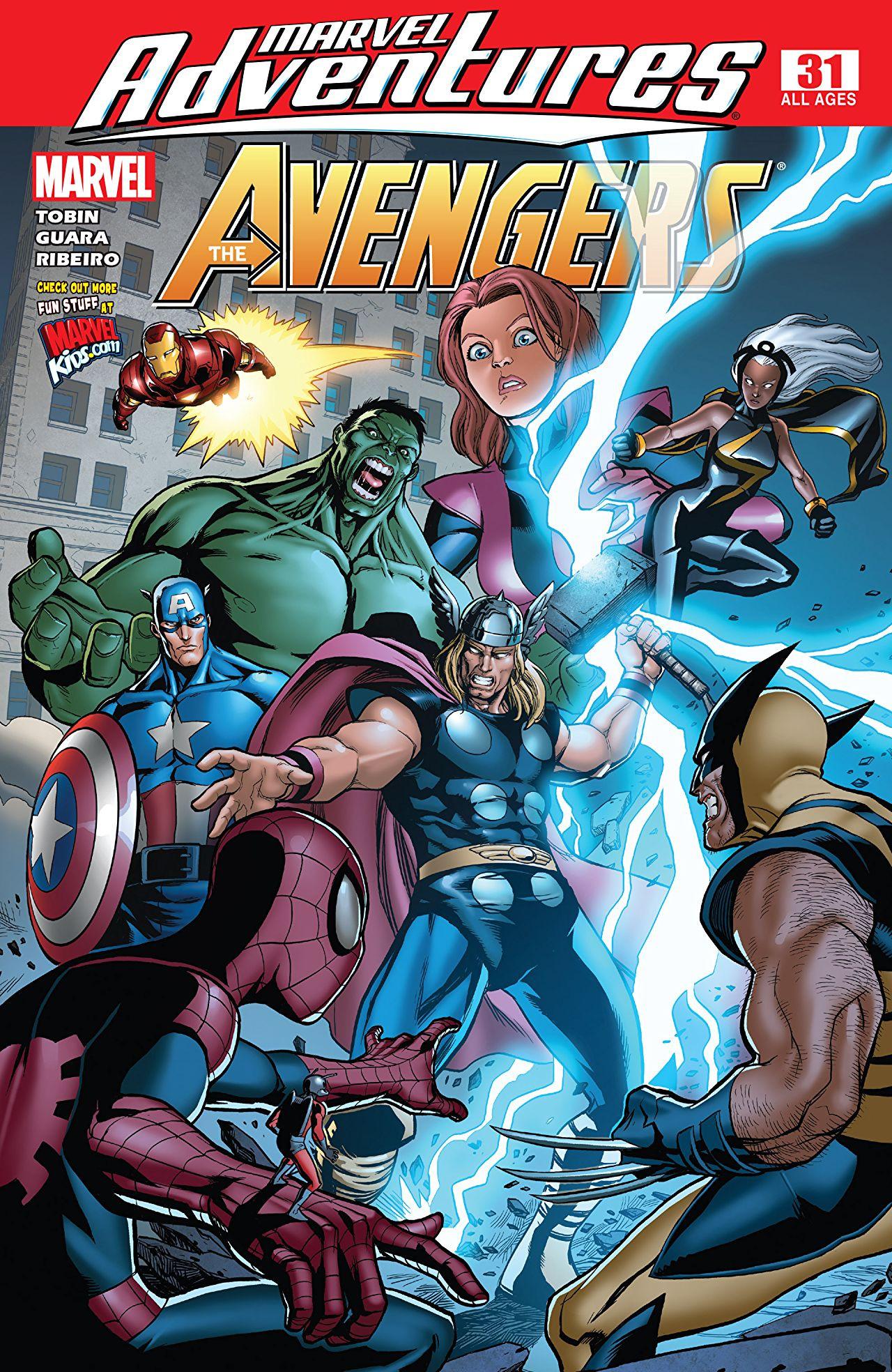 Marvel Adventures The Avengers Vol 1 31
