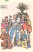New Mutants Vol 1 92 Pinup