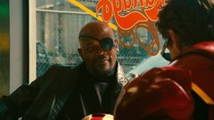 Nicholas Fury (Earth-199999) and Anthony Stark (Earth-199999) from Iron Man 2 (film) 001