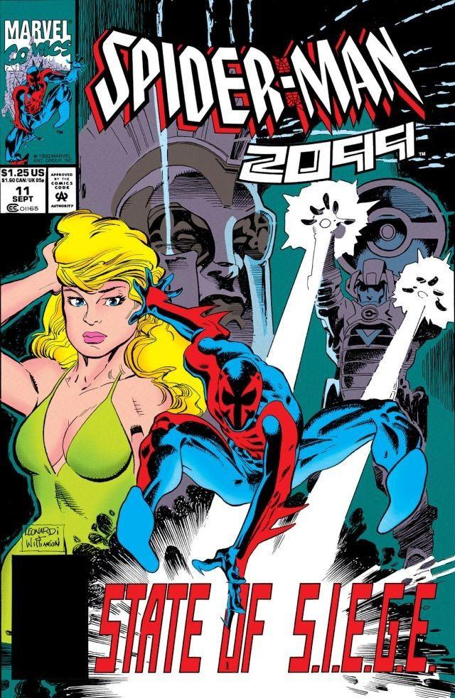 USA, 1993 Spiderman 2099 # 11