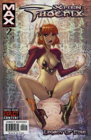X-Men Phoenix Legacy of Fire Vol 1 2