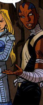 Azari T'Challa (Earth-10071) from Avengers Vol 4 4 0001