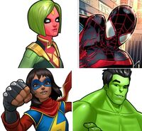 Champions (Earth-TRN562) from Marvel Avengers Academy