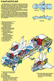 Fantasti-Car MK II (Skematic) from Official Handbook of the Marvel Universe Vol 1 4 0001