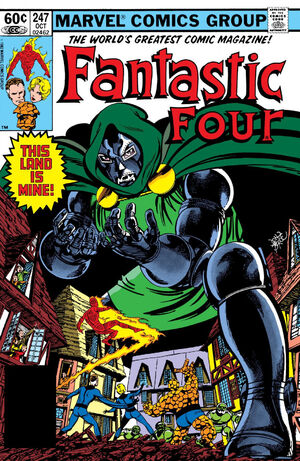 Fantastic Four Vol 1 247