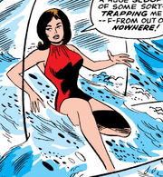 Janet Van Dyne (Earth-616) in her fourth Wasp costume from Avengers Vol 1 26 001