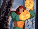 Kl'rt (Earth-534834) disguised as Franklin Storm (Earth-616) from Fantastic Four (1994 animated series) Season 2 10 0001