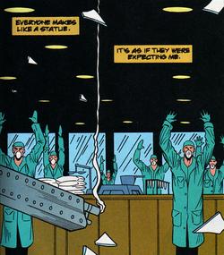 Los Blancos Drug Lab from Punisher War Journal Vol 1 80