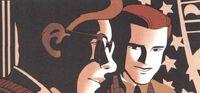 Matthew Murdock (Earth-7642) and Harvey Dent (Earth-7642) from Daredevil Batman Vol 1 1 001