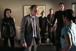 Melinda May (Earth-199999), Phillip Coulson (Earth-199999), Jemma Simmons (Earth-199999), Leopold Fitz (Earth-199999), and Grant Ward (Earth-199999) from Marvel's Agents of S.H.I.E.L.D. Season 1 14 001