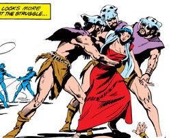 Pandorians (Earth-616) from Ka-Zar the Savage Vol 1 1 001