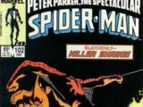 Peter Parker, The Spectacular Spider-Man Vol 1 102