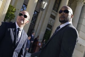 Phillip Coulson (Earth-199999) and Alphonso Mackenzie (Earth-199999) from Marvel's Agents of S.H.I.E.L.D. Season 4 10 001