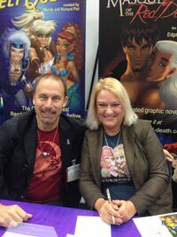 Richard Pini and Wendy Pini