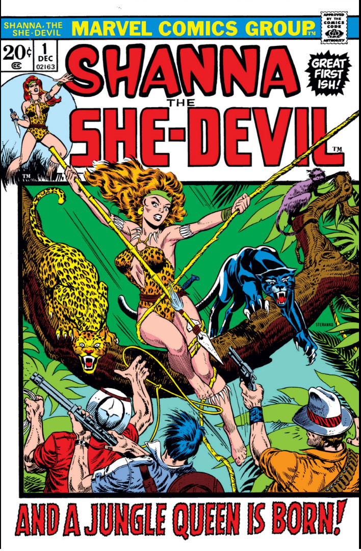 Image result for shanna the she devil marvel