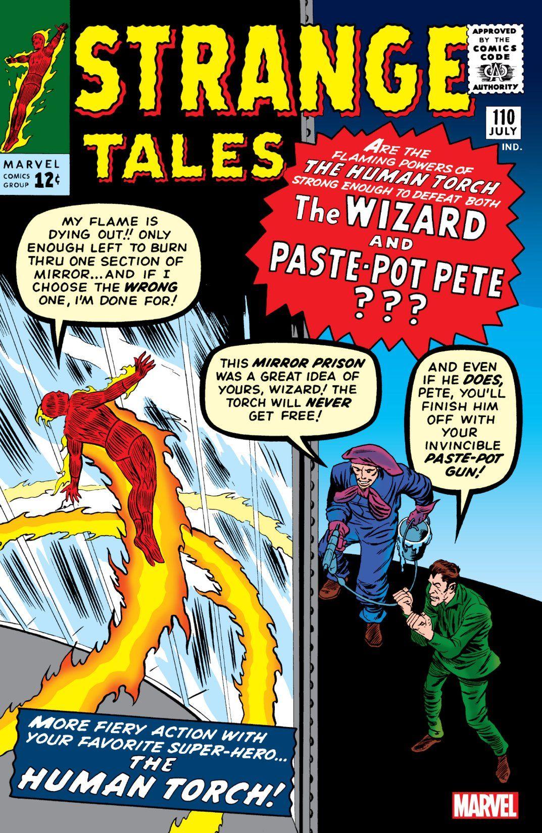 Image result for Strange Tales #110 (July 1963)