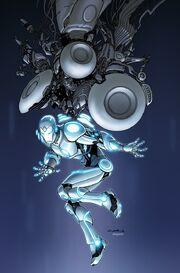 Superior Iron Man Vol 1 1 Çinar Variant Textless