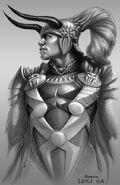 Thor Concept Art - Loki 005