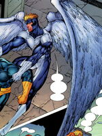 Warren Worthington III (Earth-7642) from WildC.A.T.s X-Men Vol 1 The Silver Age 001