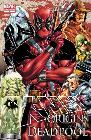 X-Men Origins Deadpool Vol 1 1