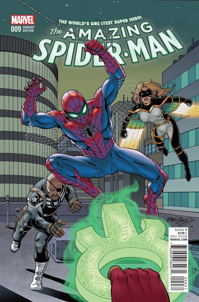 amazing spider-man vol 4 9   marvel database   fandom poweredwikia