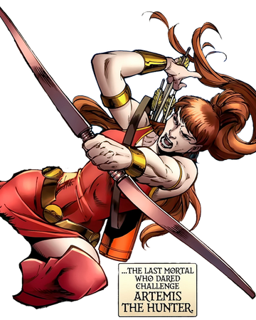 Artemis Olympian Earth 616 Marvel Database Fandom