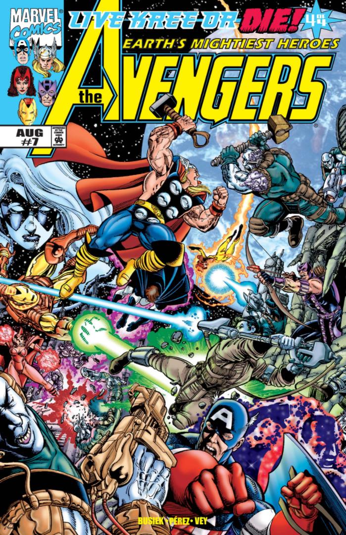 1998-2004 #10 3 Avengers Vol