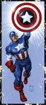Captain America Steve Rogers Vol 1 11 Corner Box Variant Textless