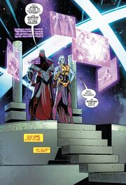 Grandmaster's Cosmic Game Room from Avengers Vol 1 684 001