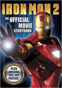Iron Man 2 The Official Movie Storybook cover